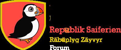 Republik Saiferien / Räbüplyg Zäyvyr